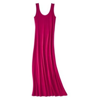 Merona Petites Sleeveless Maxi Dress   Red XXLP