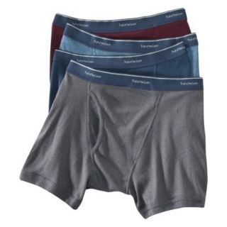 Fruit of the Loom Mens 4 pk. Low Rise Boxer Briefs   Assorted Colors XXL