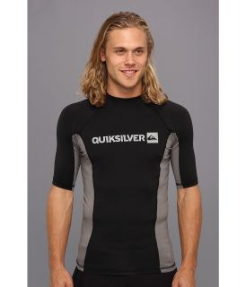 Quiksilver Prime S/S Surf Shirt Mens Swimwear (Black)
