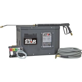 NorthStar Electric Cold Water Stationary Pressure Washer   3000 PSI, 2.5 GPM,