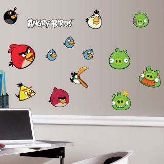 Angry Birds Removable Wall Decorations
