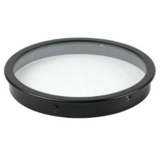 Kichler 9534BK Outdoor Light, Original Accessory Lens Fixture Black Material (Not Painted)