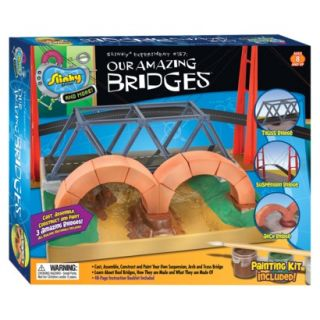 POOF Slinky Science Our Amazing Bridges Model Building Kit