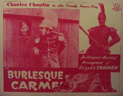 Burlesque on Carmen   Rare Re Release (Original Lobby Card   A)