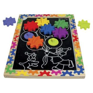 Melissa & Doug Switch n Spin Magnetic Gear Board