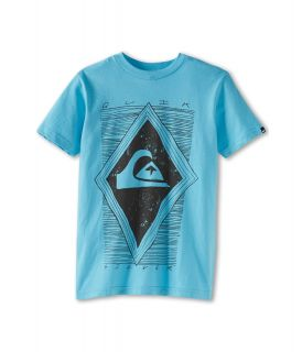 Quiksilver Kids Hallowed Tee Boys T Shirt (Green)