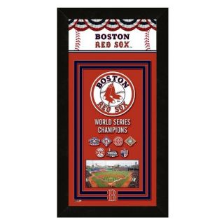 MLB Boston Red Sox Framed Championship Banner