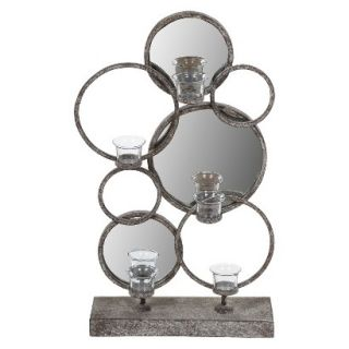 Mirrored Candle Holder Stand