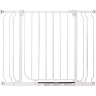 North States Easy Close Metal Pet Gate with 2 Extensions, Model 4910S