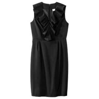 Merona Petites Sleeveless Sheath Dress   Black 8P