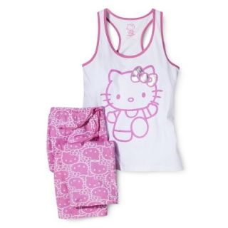 Hello Kitty Juniors PJ Set   Pink L(11 13)