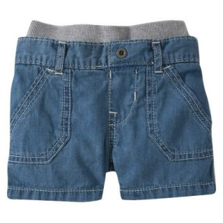 Burts Bees Baby Toddler Boys Jean Short   Chambray 4T