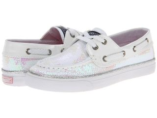 Sperry Top Sider Kids Bahama Girls Shoes (White)