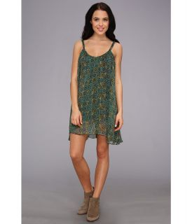 RVCA Garden Sleeveless Dress Womens Dress (Green)