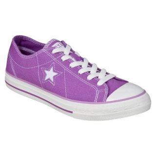 Womens Converse One Star Orchid Oxford   Purple 5.5