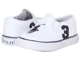 Polo Ralph Lauren Kids Siera Boys Shoes (White)