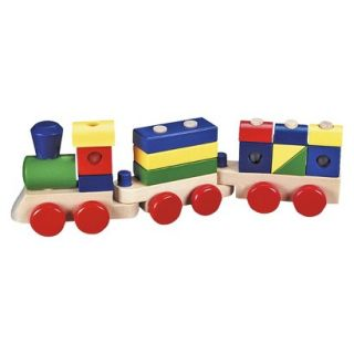 Melissa & Doug Classic Wooden Stacking Train