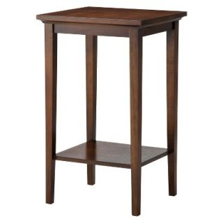 Accent Table Threshold Basic Accent Table   Brown