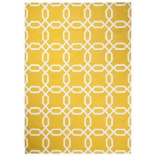 Room 365 Geometric Area Rug   Gully Gold (7x10)