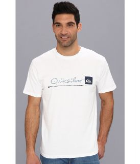Quiksilver Waterman Standard T Shirt Mens T Shirt (White)