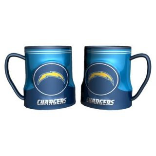 Boelter Brands NFL 2 Pack San Diego Chargers Game Time Mug   20 oz