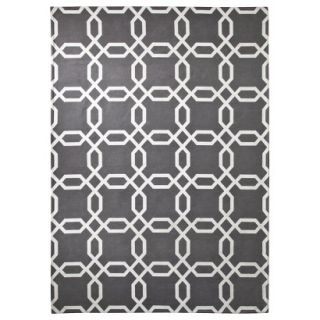 Room 365 Geometric Area Rug   Gray (5x7)