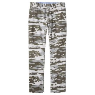 Mossimo Supply Co. Mens Slim Fit Chino Pants   Mesa Gray Camouflage 32x32
