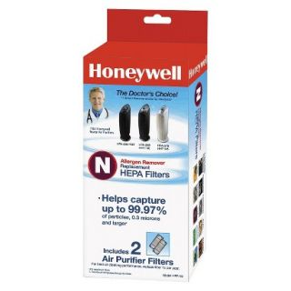 Honeywell True HEPA Replacement Filter N for Air Purifiers   2 Pack