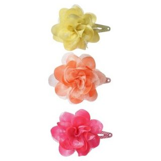 Cherokee Infant Girls 3 Piece Hair Clips   Assorted