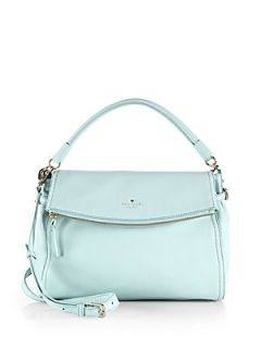 Kate Spade New York Cobble Hill Little Minka Satchel   Grace Blue