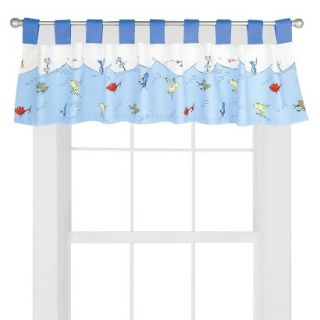 Dr Seuss One Fish Two Fish Valance