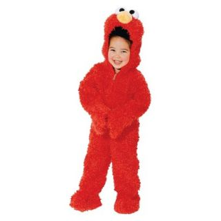 Toddler Sesame Street Elmo Plush Deluxe Costume 2T