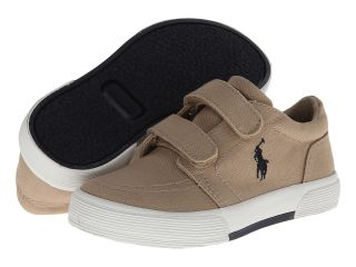 Polo Ralph Lauren Kids Faxon Ez II Boys Shoes (Khaki)