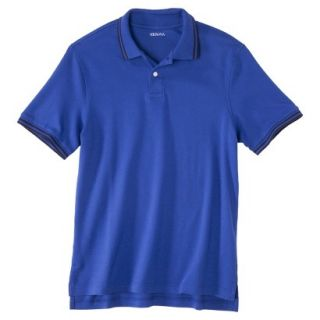 Mens Classic Fit Polo Shirt BLUE STREAK XXL