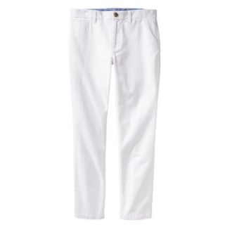 Mossimo Supply Co. Mens Vintage Slim Chino Pants   Fresh White 34X34