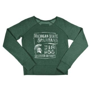 NCAA Kids Michigan State Fleece   Green (S)