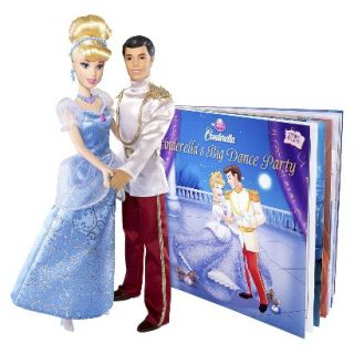 Disney Princess Cinderellas Big Dance Party Doll Gift Set