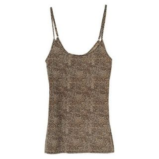 JKY By Jockey Womens Nylon Stretch Cami   Animal Print XL