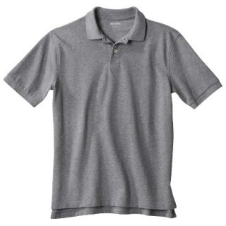 Mens Classic Fit Polo Shirt Heather Gray Grey XXLT
