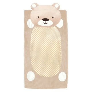 CoCaLo Plushy Teddy Bear Changing Pad Cover