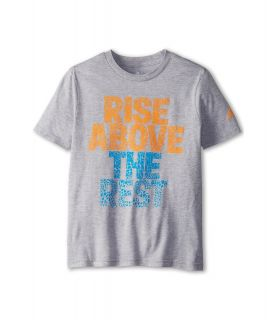 adidas Kids Rise Above Boys T Shirt (Gray)