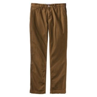 Mossimo Supply Co. Mens Slim Fit Chino Pants   Gilded Brown 34x34