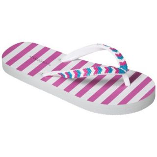 Girls Xhilaration Hoppie Flip Flop Sandals   Pink S