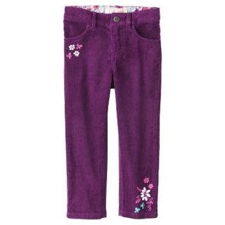Genuine Kids from OshKosh Infant Toddler Girls Corduroy Pant   Soho Grape 12 M