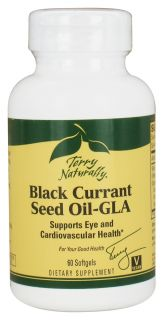 EuroPharma   Terry Naturally Black Currant Seed Oil GLA   60 Softgels