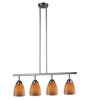 Celina 4 Light Island Lights in Polished Chrome 10153/4PC C