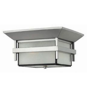 Harbor 2 Light Outdoor Ceiling Lights in Titanium 2573TT