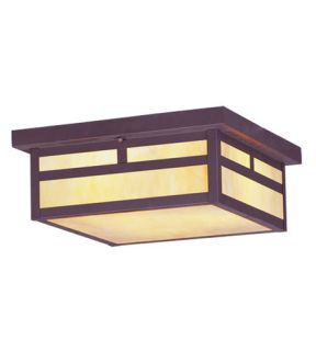 Montclair Mission 3 Light Outdoor Ceiling Lights in Bronze 2146 07