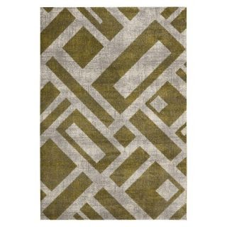 Safavieh Geometric Blocks Area Rug   Ivory (53x77)