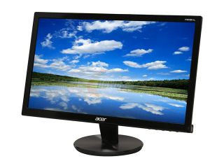"Acer P Series P206HL BD (ET.DP6HP.005) Black 20"" 5ms Widescreen LED Backlight LCD Monitor 250 cd/m2 ACM 12,000,000:1 (1,000:1)"